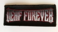 DEAF FOREVER Patch - Logo